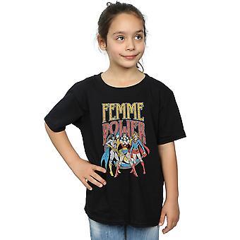 DC Comics Girls Wonder Woman Femme macht T-Shirt