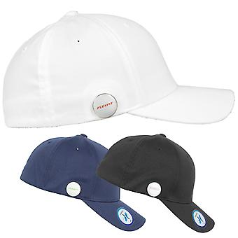 Stretchable Flexfit golfer magnetic button Cap