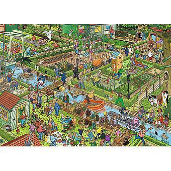Jan Van Haasteren The Vegetable Garden  Jigsaw Puzzle (1000 Pieces)