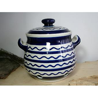 Onion pot, 3500 ml, 23 x 22 cm, tradition 29 - ceramic Upper Lusatia - BSN 409011