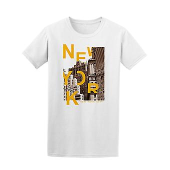 New York City Photo Tee Men's -Image by Shutterstock