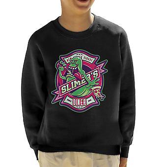 Ghostbusters Slimers Diner Kid's Sweatshirt