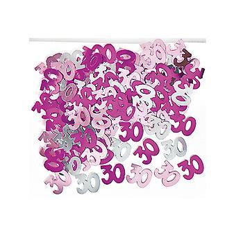 Syntymäpäivä Glitz Pink - 30th syntymäpäivä konfetti