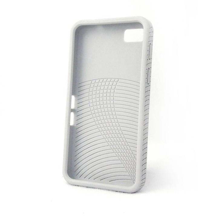 Konkis 3 x TPU Cases Cover for BlackBerry Z10 black / white / gray