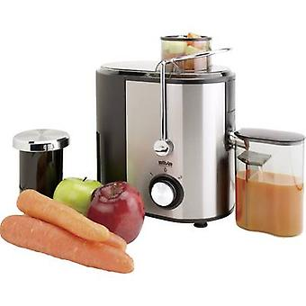 Silva Homeline Juicer AE4040 400 W Stainless steel, Black juice spout