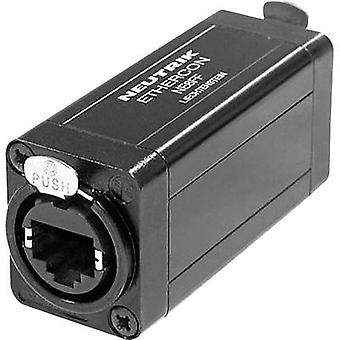 Neutrik NE8FF NE8FF RJ45 Data Connector EtherCon D Series 8P8C RJ45-uttag, rak svart