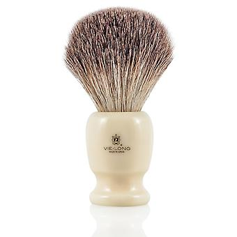 Vie lange 16733 svart Badger barbering pensel