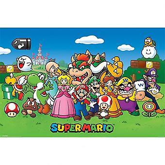 Super Mario Poster caractères 164
