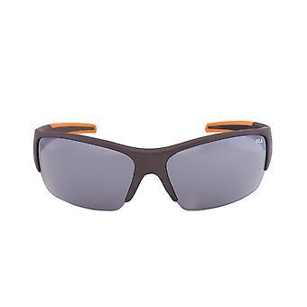 Gafas de sol abrigo Rectangular 800 F1048C de fila | Gris y naranja marco | Lente gris