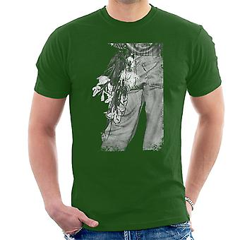 The Smiths Morrissey Flowers In The Back Pocket Men's T-Shirt