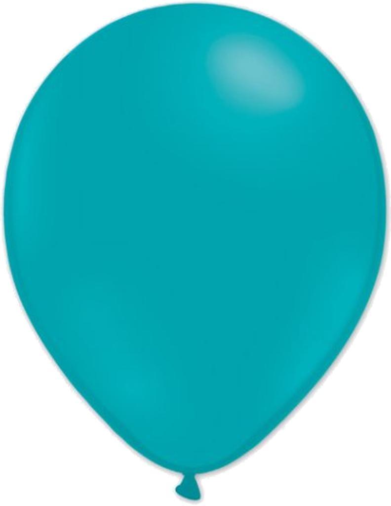 Ballonger mix 24-pack turkos/vit