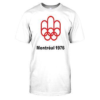 Montreal OS 1976 sommar OS Mens T Shirt
