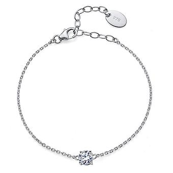 Bracelet Comfort 925AG RH CZ
