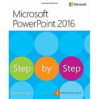 Microsoft PowerPoint 2016 (Step by Step)