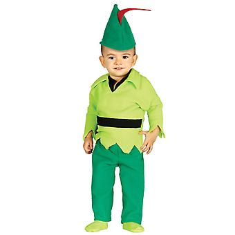 Toddlers Archer Robin Hood Fancy Dress Costume