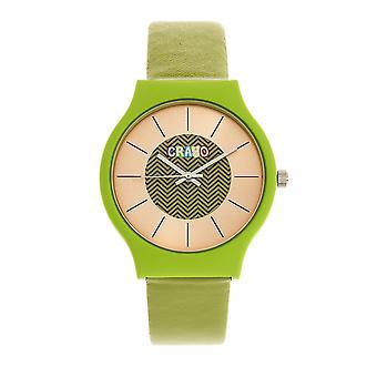Crayo Trinity Unisex Watch - Green