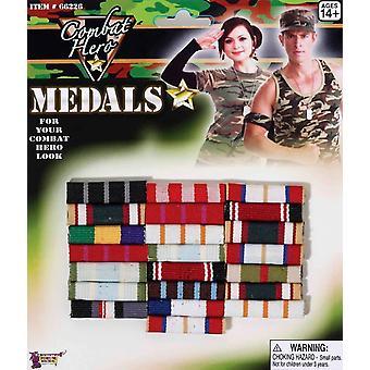 Combat Hero Medals Bars