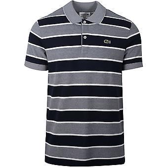Lacoste Navy stripete Polo skjorte