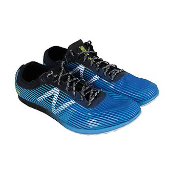 New Balance Track Field Spikes  Mens Blue Gym Athletic Track Shoes