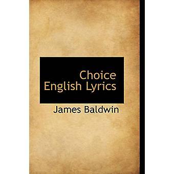 Valg engelske tekster av Baldwin & James