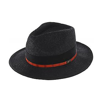 Bailey Straw Denney Fedora Hat
