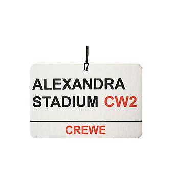 Crewe / Alexandra Stadium Street Tilmeld bil luftfriskere