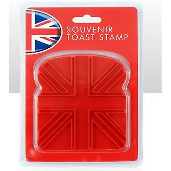 Union Jack tragen Union Jack-Toast-Stempel