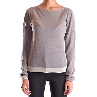 Bp Studio Ezbc247004 Women's Grey Cotton Sweater
