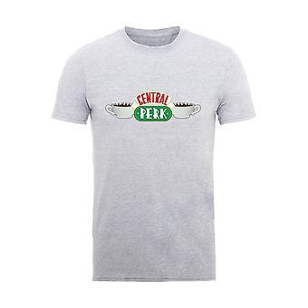 Men's Friends Central Perk Logo Heather T-Shirt