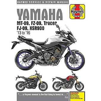 Yamaha MT-09 Service and Repair Manual - 2013-2016 by Matthew Coombs -