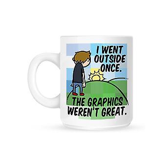 Grindstore I Went Outside Once Mug