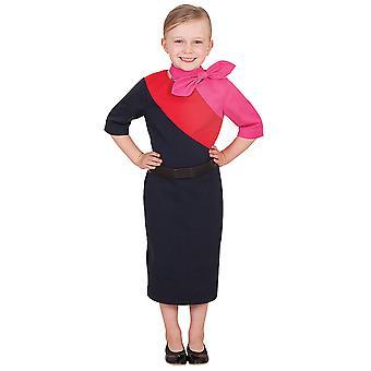 Qantas matkustamo miehistön yhtenäinen lento emäntä ammatti tyttöjen puku