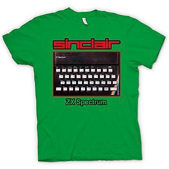Womens T-shirt - Sinclair ZX Spectrum 80er Jahre - Computerspiele