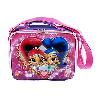 Lunch Bag - Shimmer and Shine - Ice Cream Kit Case New 009069