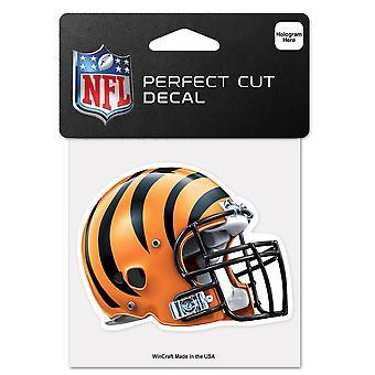 Wincraft Helm Aufkleber 10x10cm - NFL Cincinnati Bengals