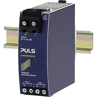 PULS YR80.242 Rail mounted redundancy (DIN) 80 A No. of outputs: 1 x