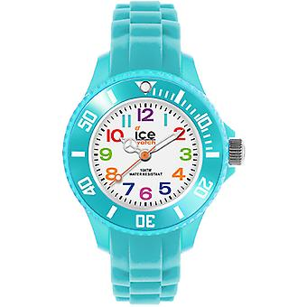Eis-Mini Quarz Analog Kinderuhr mit Silikon Armband IC012732