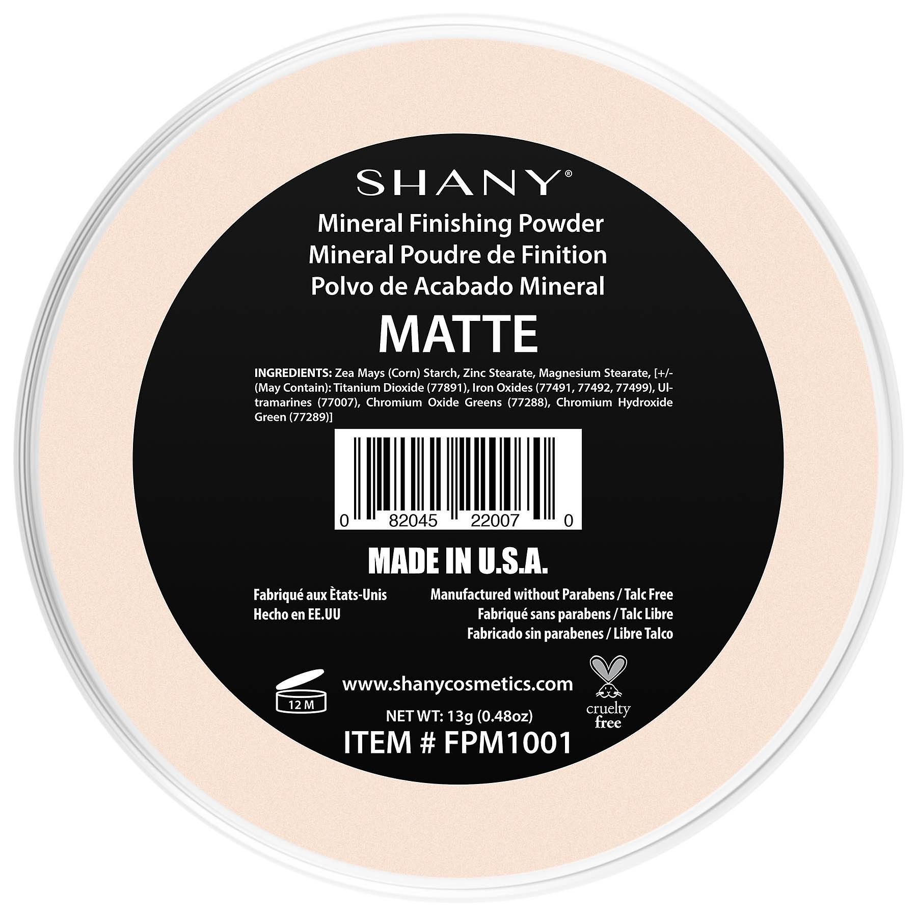 SHANY Mineral Finishing Powder - Paraben Free/Talc Free