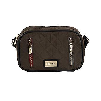 For Time Bandolera Zikin - Women Brown Shoulder Bags (Marr n) 7x15x24 cm (W x H L)