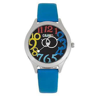 Crayo Spirit Unisex horloge-blauw