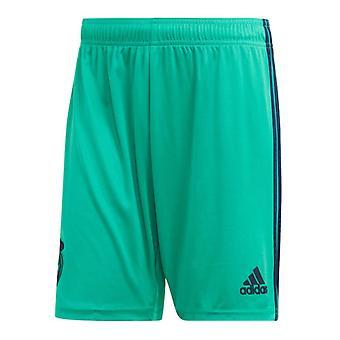 2019-2020 Real Madrid Adidas Dritte Shorts (Grün)