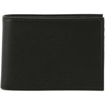 Bi-fold - Emporio Armani- Men-Black Leather