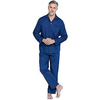 Tootal Mens Tootal Azulejo Impresión Pijama