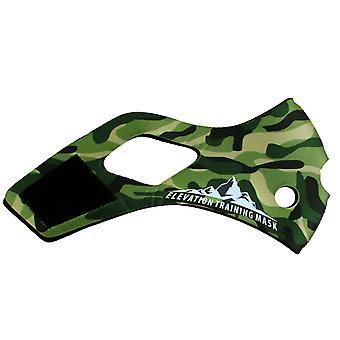 Hoogte opleiding masker 2.0 Jungle Camo hoes - groen