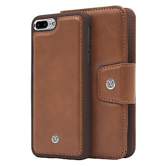 Marvêlle iPhone 7/8 Plus Magnetic Case & Wallet Dark Brown Basic