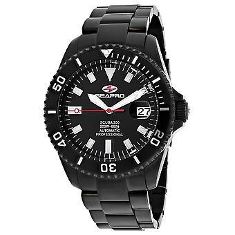 Seapro Men's Scuba 200 Black Dial Watch - SP4328