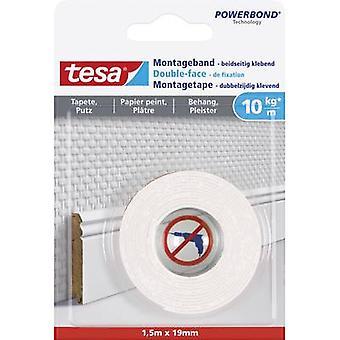 tesa WALLPAPER 77742-00000-00 Industrial tape tesa® Powerbond White (L x W) 1.5 m x 19 mm 1 pc(s)