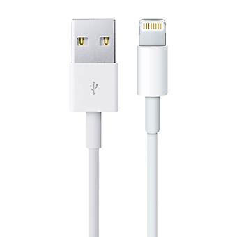 IPhone (Lightning) laddnings kabel/USB-synk och laddning, vit