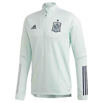 2020-2021 Spain Adidas Training Top (Dash Green)