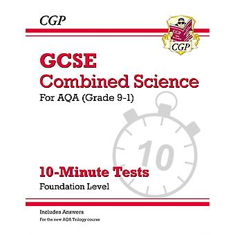 Grade 91 GCSE Combined Science AQA 10Minute Tests with a
